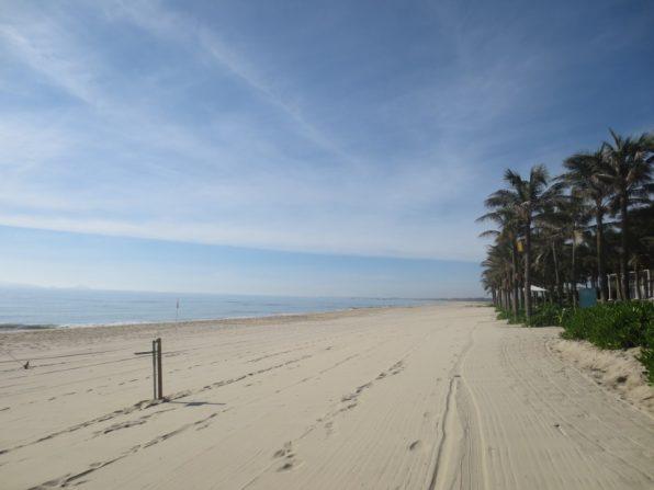 ナマン リトリート ダナンのビーチ
