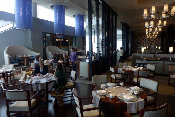コンラッドホテル内・中華料理 「CHINA BLUE」