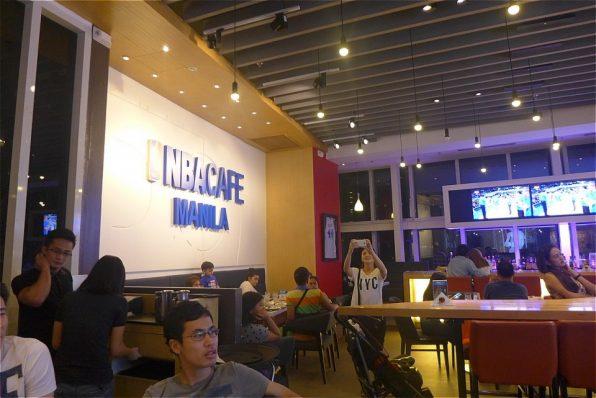 フィリピンマニラのNBAカフェ店内の様子2