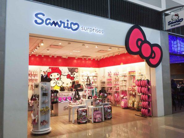 sanrioデトロイト空港のサンリオ