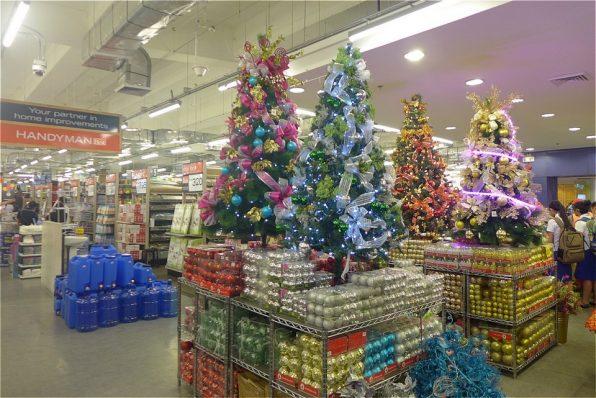 ホームセンターのクリスマス