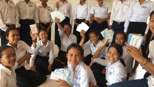 【カンボジア】アンコールワットだけじゃない!カンボジアで日本語学校訪問