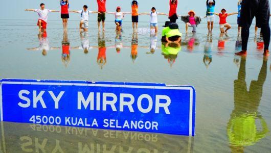【マレーシア】まるでウユニ塩湖⁉スカイミラー